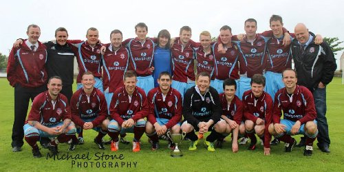 PUFC - Colin MacLeod Memorial cup winners for 2014